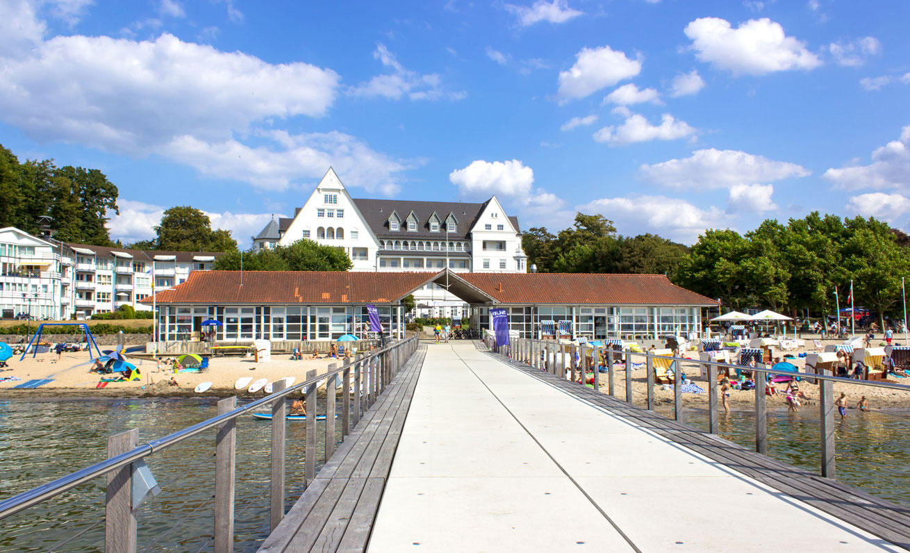 Seebrücke in Glücksburg