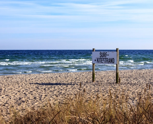 Strand in Weidefeld