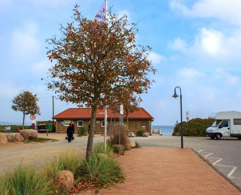 Strandpromenade in Holnis