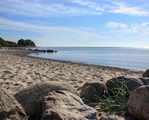 Strand in Langholz