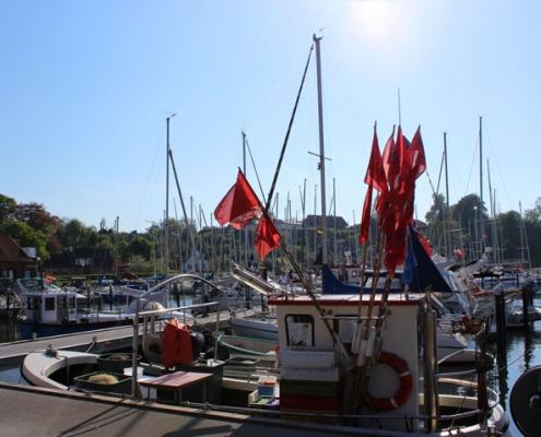 Hafen in Langballigau