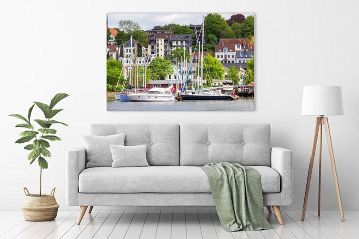 Wandbild Flensburg
